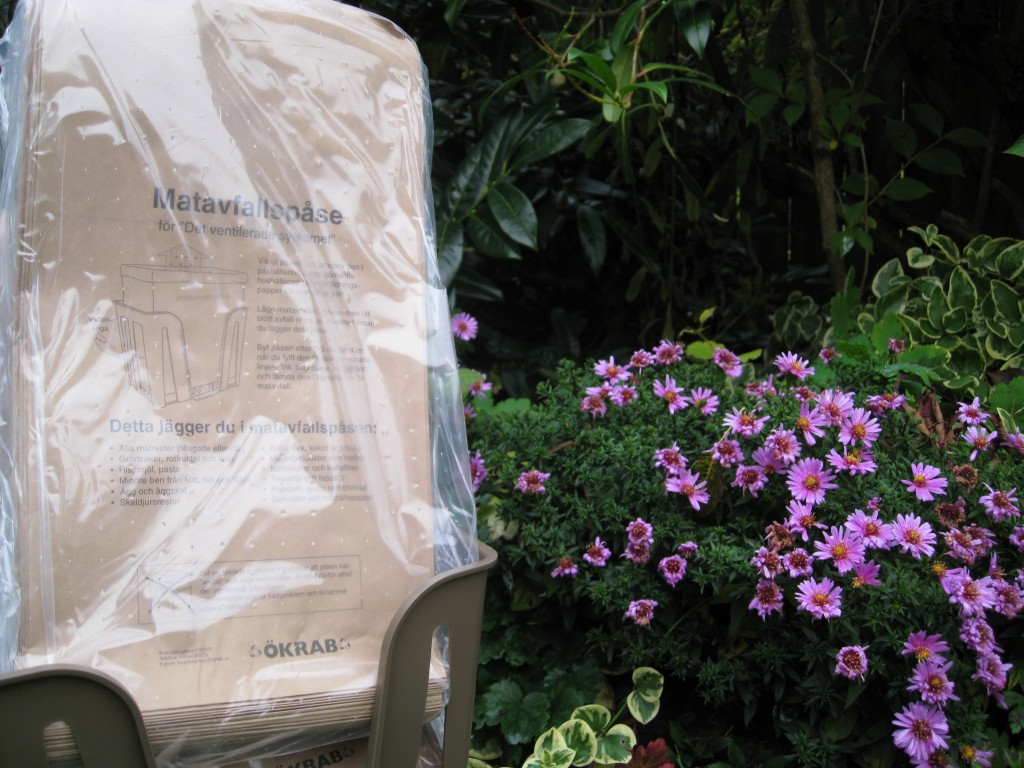 Miljöengagemang, komposterbart