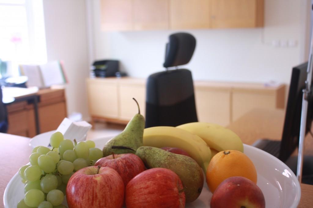 äpple, päron, banan