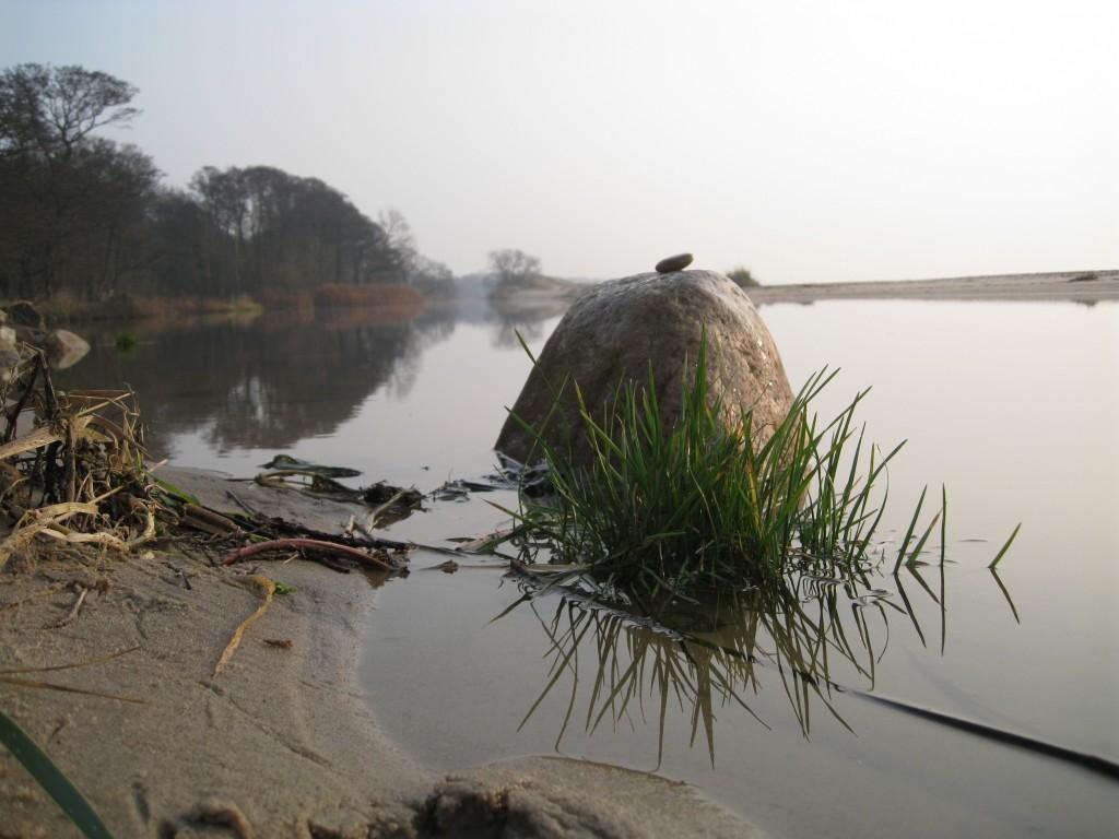 Sten i vatten