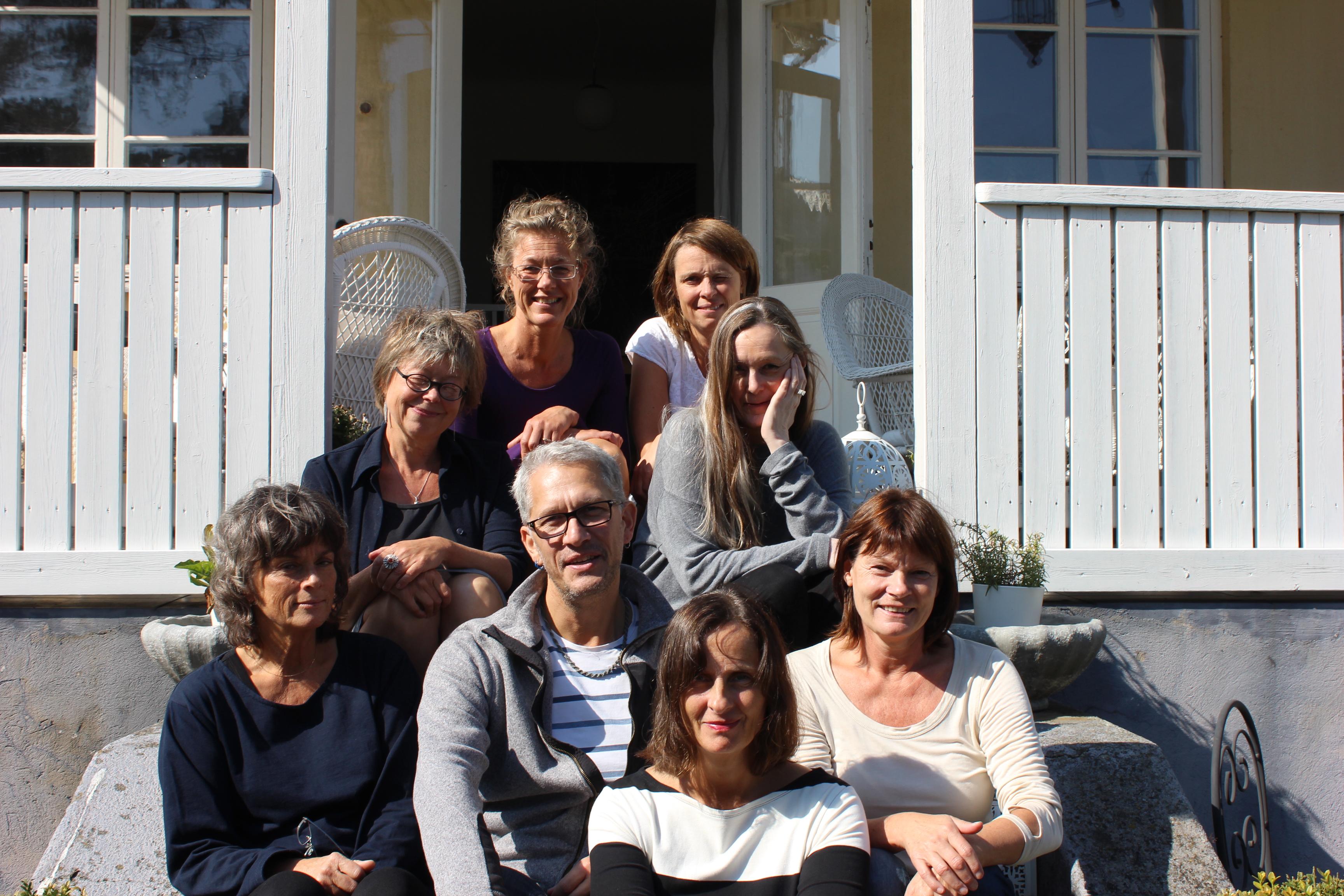 En av årets absoluta höjdpunkter - kursen om litterär gestaltning i Ystad för Susanna Alakoski och Mats Söderlund