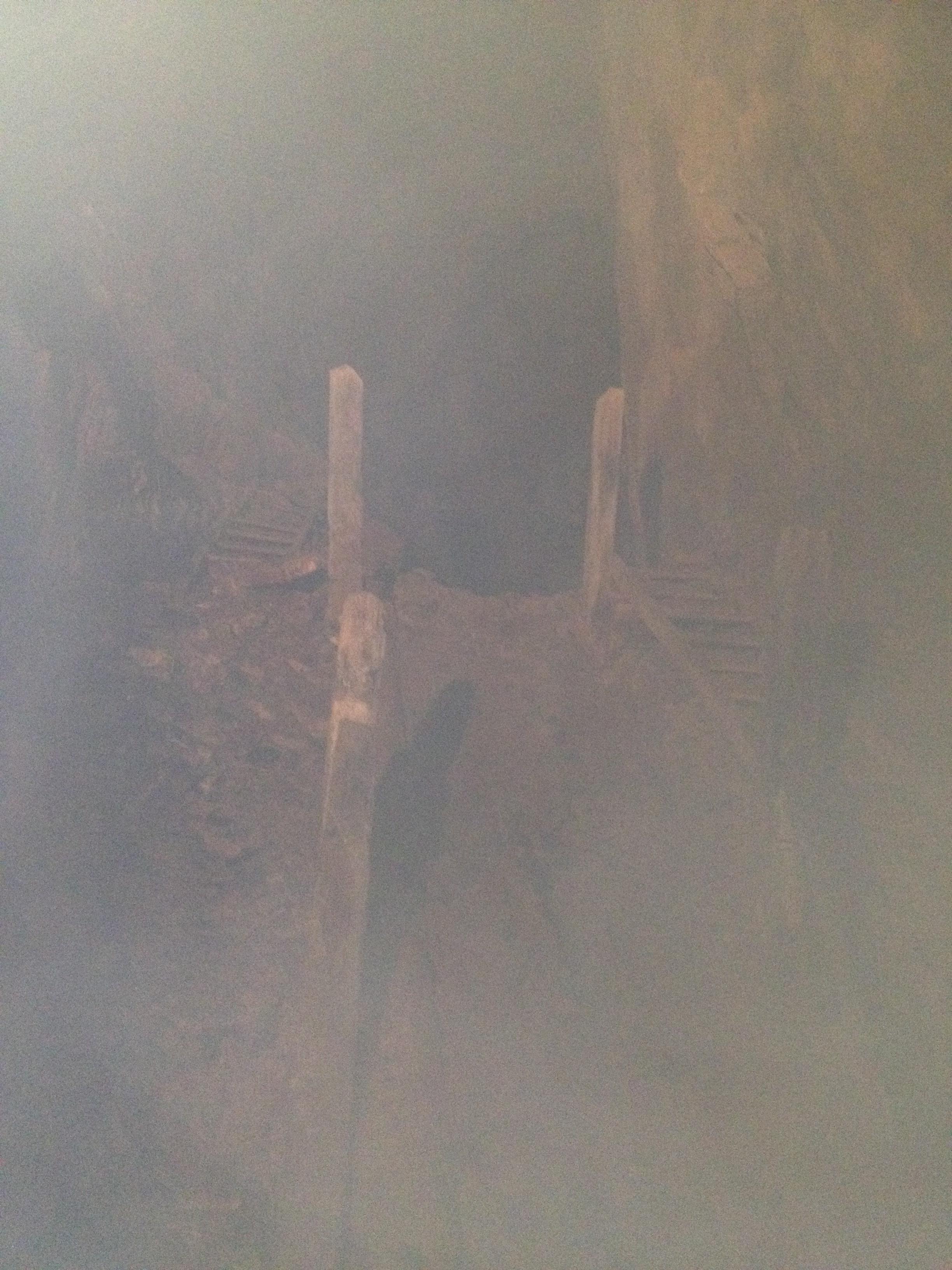 Flera tusen mil gruvgångar, enorma salar. Gruvarbetarna arbetade 6-18 sex dagar i veckan. På en månad kunde de gräva ut mindre än en halv meter. 1637 arbetade 800 man i gruvan. Tänk så många arbetstimmar det tagit att skapa gångarna i det hårda berget.