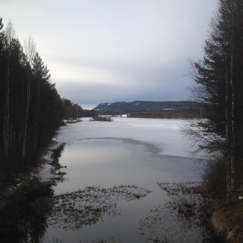 Is i Älvdalen