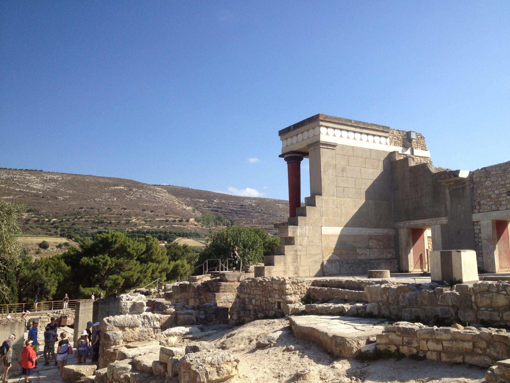 Palatset i Knossos