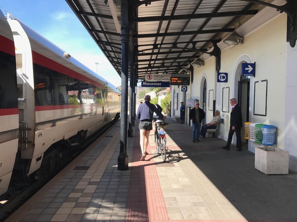 Tåg på Sardinien.