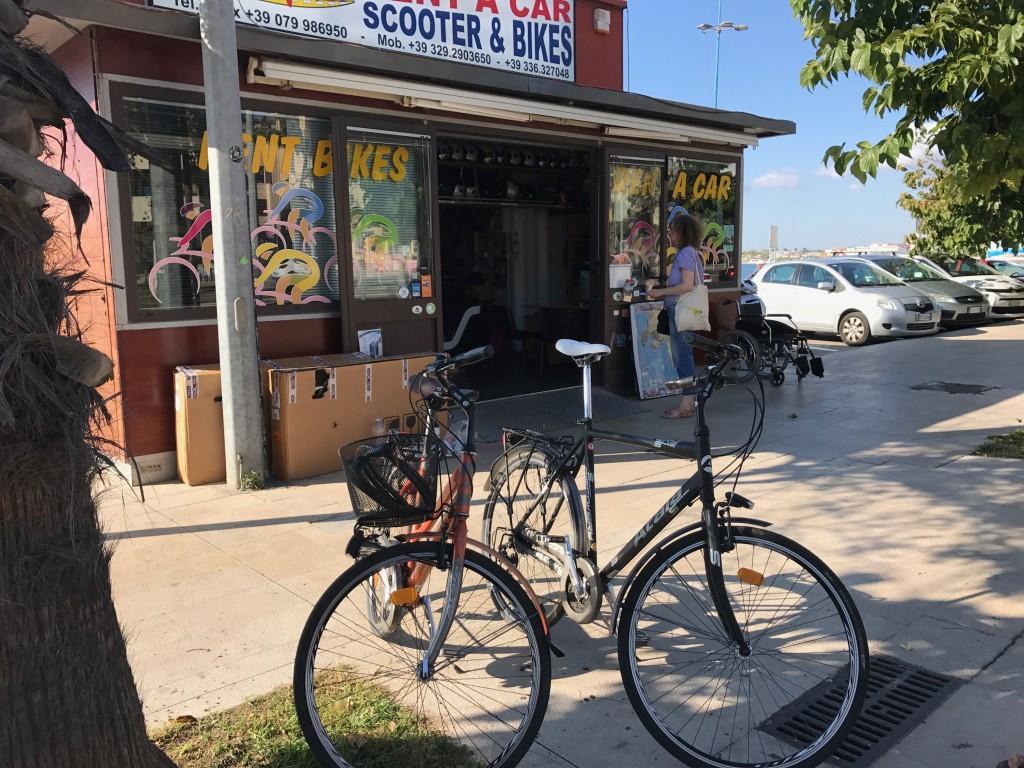 Vi hyrde våra cyklar på www.cicloexpress.com