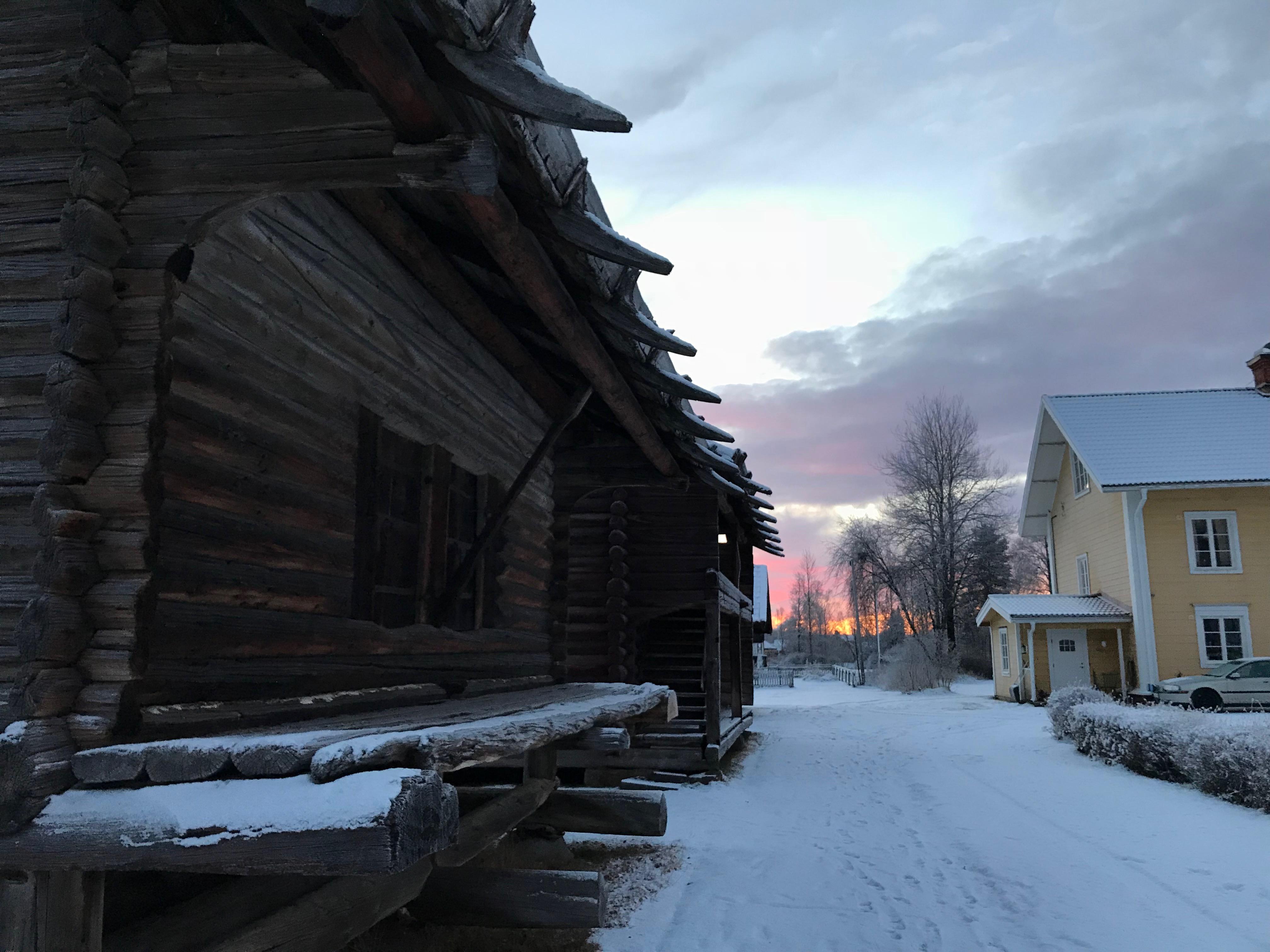 Kyrkhärbret - Sveriges näst äldsta byggnad - 1200-talet