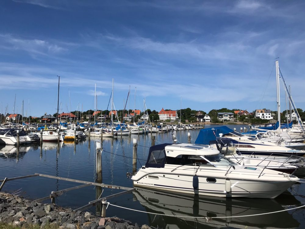 hamn båtar kattegattleden