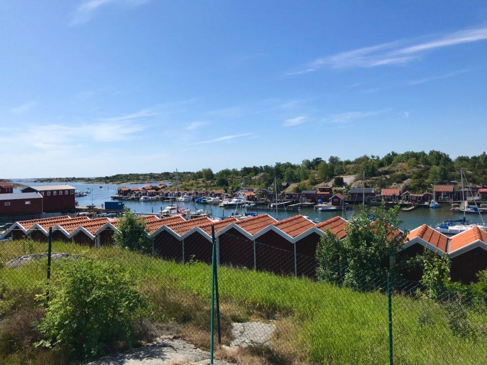 Kattegattleden röda hus hav skärgård