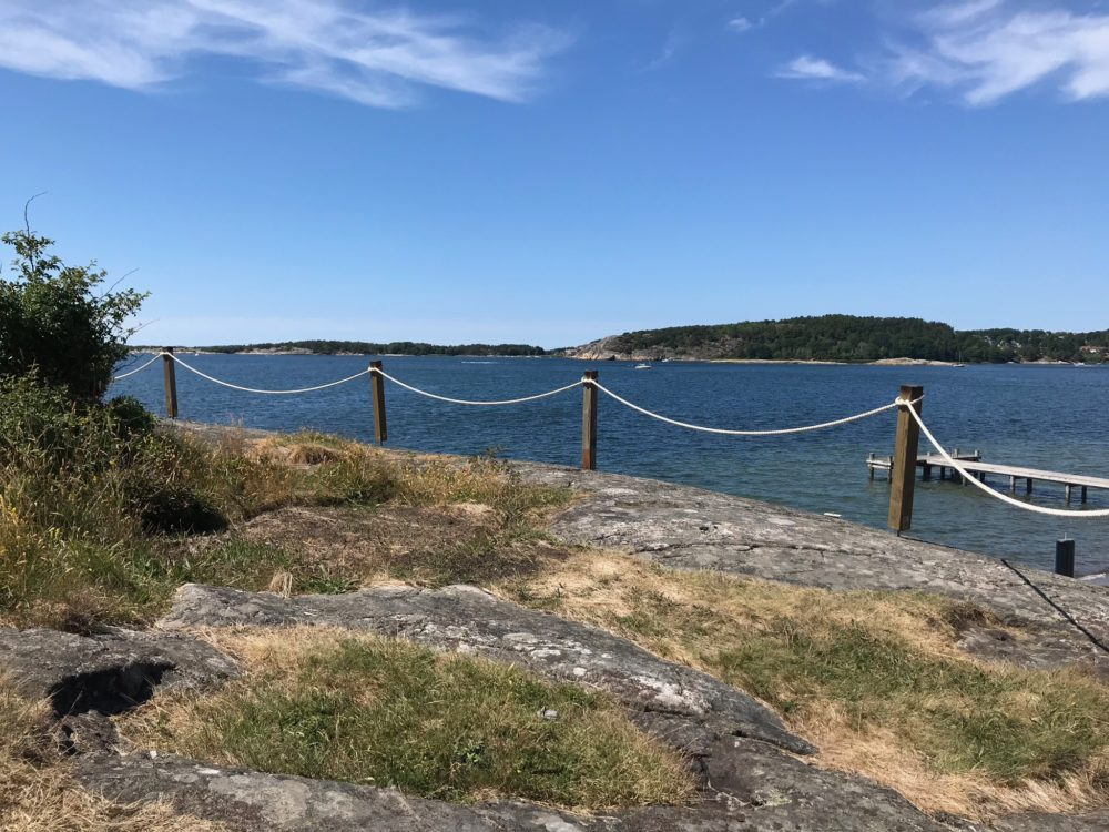 Hovås kattegattleden göteborg hav klippor
