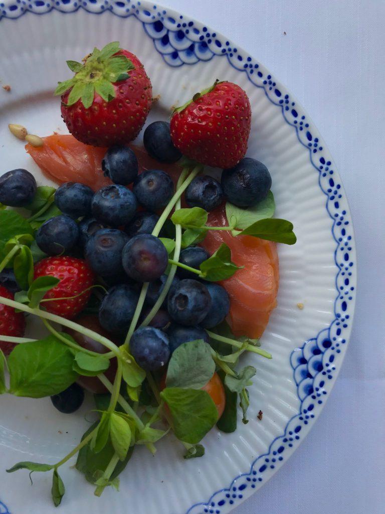 jordgubbar blåbär