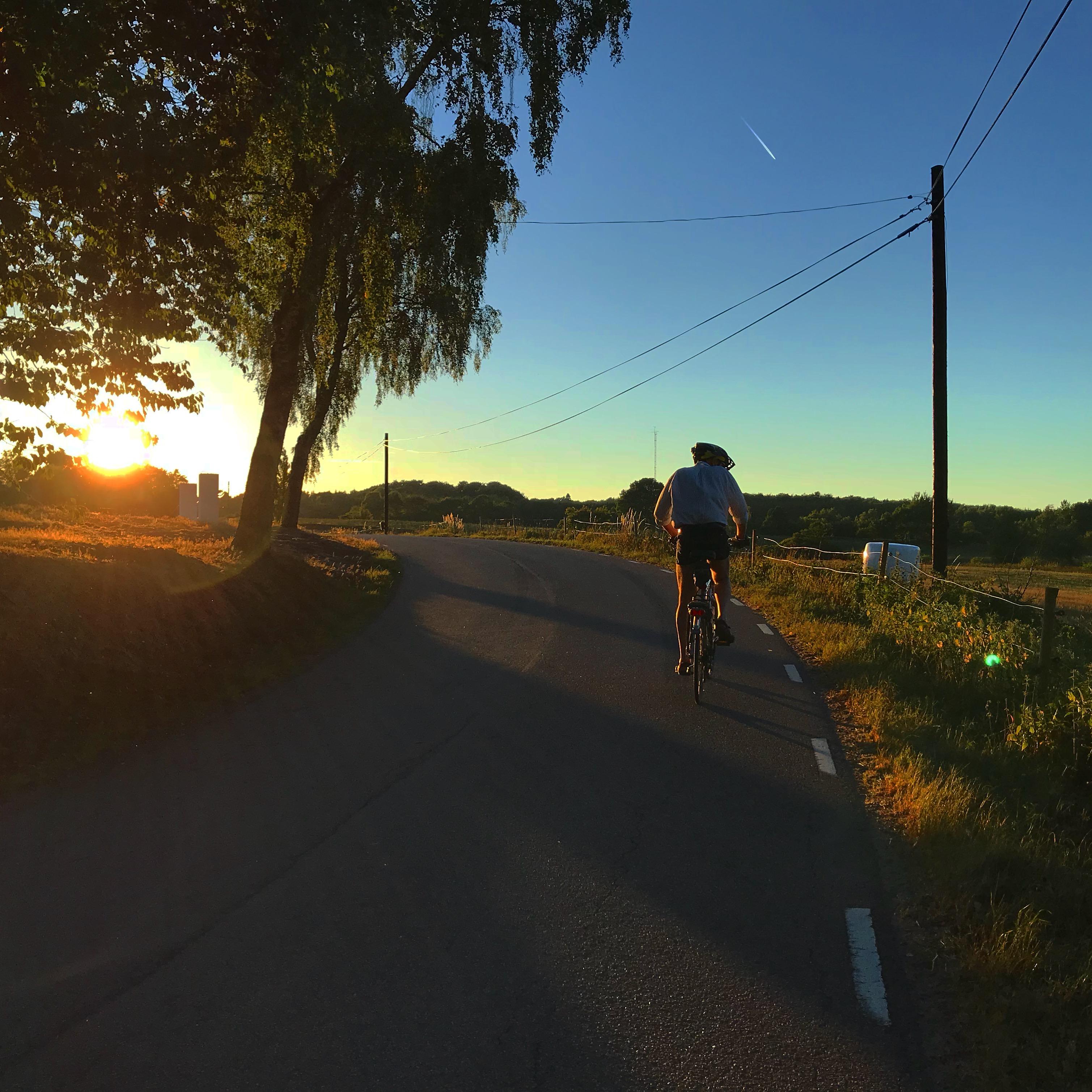 Sven cykel cykla träningspass