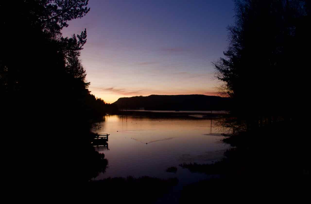 Älvdalen morgon vatten