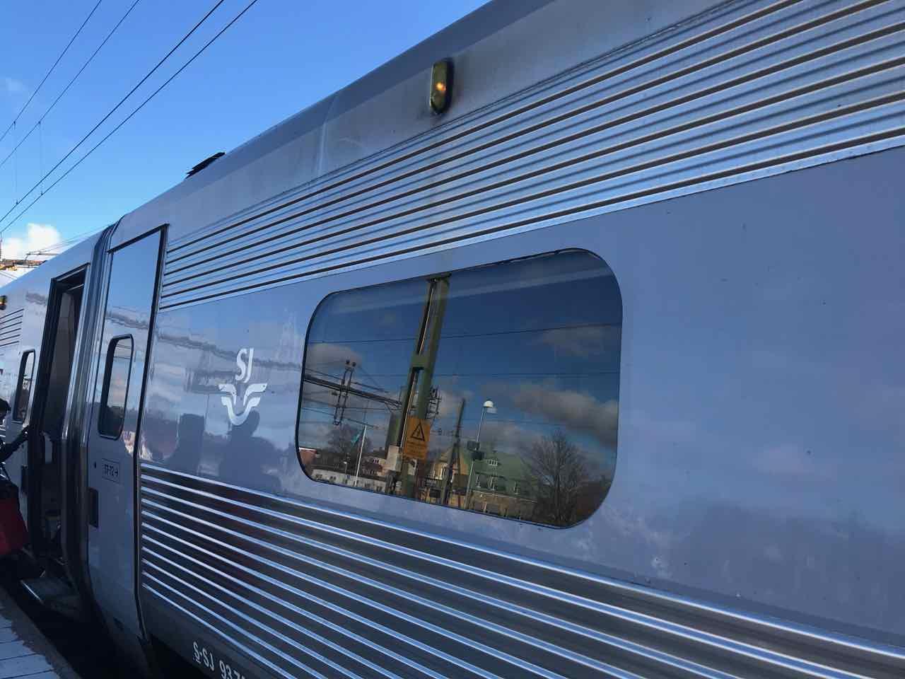 Tåg klimatsmart resande hållbartresande