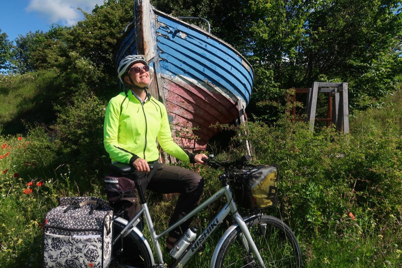 Annika Andebark Nishikicykel nishiki cykel