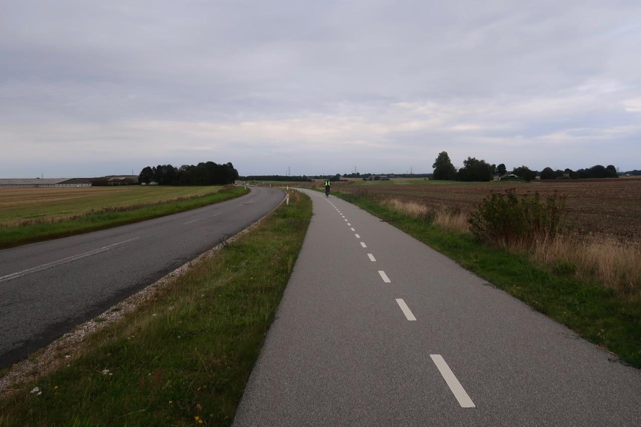 Danmark cykla cykelväg